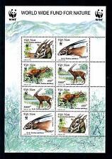 [54133] Vietnam 2000 Wild animals Mammals Wwf Antelope Mnh Sheet