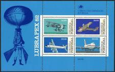 Portugal 1552a S/S, MI Bl.37, MNH. Historic Flights, Planes, 1982