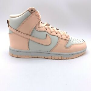 Nike Dunk High Crimson Tint High Top Skate Shoes Women's Size 11, Men's Size 9.5