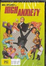 HIGH ANXIETY - MEL BROOKS - NEW & SEALED  REGION 4 DVD FREE LOCAL POST