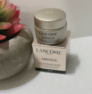 New Lancome Absolue Revitalizing Eye Cream with Grand Rose Extracts Trial 5ml