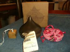 LONGABERGER 2009 HERSHEY'S KISSES SWEETHEART BASKET LID POUCH TIE ON PAPERS BOX