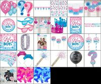 Gender Reveal Party Supplies Baby Decorations Table Wear Photo Prop Party