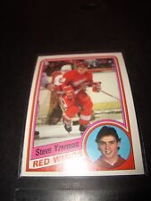 STEVE YZERMAN 1984-85 Topps Rookie Hockey Card #49 Detroit Red Wings NM RC