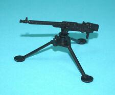 """A-TEAM ORIGINAL SPARE PART 3,5"""" COMBAT HEADQUARTERS HEAVY MACHINE GUN & TRI-POD"""