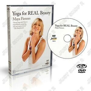 Yoga DVD : For Real Beauty : Maya Fiennes : Elle Macpherson Trainer : Brand New