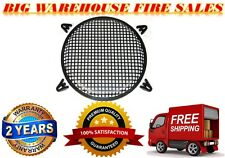 """12"""" SubWoofer Metal Mesh Cover Waffle Speaker Grill Protect Guard DJ Car Audio"""