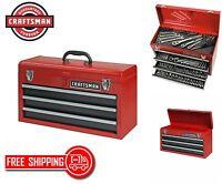 3 Drawer Portable Tool Box Craftsman Chest Storage Organizer Toolbox Garage NEW