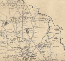 Watertown and Oakville CT 1874  Maps with Homeowners Names Shown