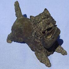 "Bronze Cairn West Highland Terrier 6"" Jan 8/50"