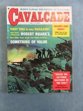 CAVALCADE Men Men's Pulp/Adventure Magazine July 1959