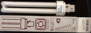 TWO (2) GE Biax® D 2-pin, Internal Starter, T4 26watt Compact Fluorescent bulbs