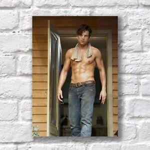 Sebastian Stan Poster A4 HQ Print Sexy Hot Hunk Body Home Wall Decor