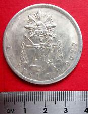 Mexico Circa 1990 Large Chinese Metal Commemorative Balance & Sword Medallion