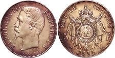 Flanon-numismatique 5 Francs Napoléon III 1854-A TTB / TTB+