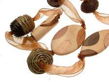 Collane per le donne Dichiarazione collane gioielli collane marrone Marrone