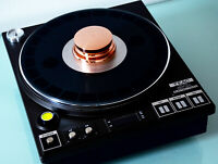 Heliopad Cu-1450 pure copper turntable record weight stabilizer for Micro Seiki