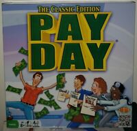 2014 PAYDAY BoardGame Hasbro The Classic Edition 100% Complete Game! Free Pencil