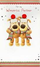 Boofle For My Wonderful Partner Christmas Card Lovely Xmas Greeting Cards
