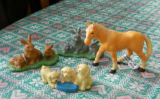 Wildlife Mixed Lot Action Figures without Packaging