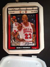 "Michael Jordan ""TAKING IT PERSONALLY"" Collector Plate Bradford EX/Upper Deck"
