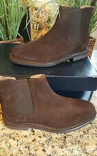 Polo Ralph Lauren Men Adley Dark Brown Suede Leather BOOTS Sz 10 Thespot917