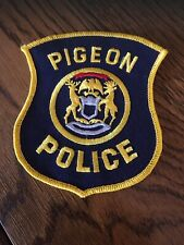 Pigeon , Michigan , Police Patch, Free Shipping