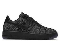 Nike Women's Air Force One Flyknit Low Size 6 Black 820256 007