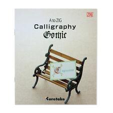Zig A-ZIG Gothic Calligraphy Book  (Single)