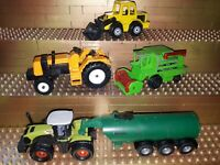Siku Spielzeug Landmaschienen Trecker Traktoren CLAAS Deutz Samson