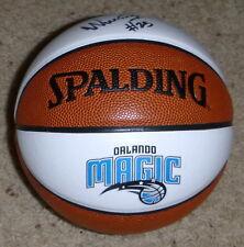 Orlando Magic  WESLEY IWUNDU Mini Basketball Autographed