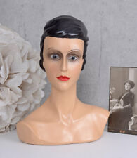 Buste femme buste Woman's Head Vintage Shabby Chic
