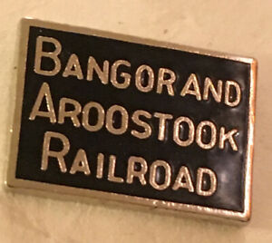 Bangor  Aroostook Railroad Tie Tac, Hat pin, Lapel Pin New