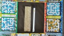 Toni's Scratcher Buddy #35 Custom Lucky Lotto Ticket Scratcher w/Brush & Case