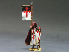 King & Country - MK010 - Crusader Standing w/Flag & Shield - Neuf en boite