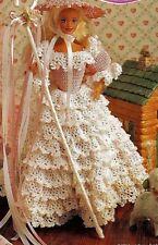 CROCHET PATTERN Barbie robe de mariage robe de bal robe Sindy Fashion Doll (109)