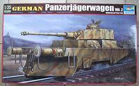Trumpeter 00369 1:35 DEUTSCHER PANZERJÄGERWAGEN WWII NEU