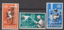 Jamaica 1968 W.H.O. MNH set S.G. 277-279