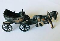 Horse & Cart Wagon Diecast Pencil Sharpener Miniature Vintage Rare (B43)