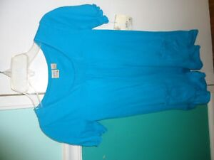 New Girls SO Turquoise BEACH COVER-UP SIZE S(7/8)