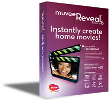 NEW muvee Reveal 8 DVD slideshow video editing software Windows XP/Vista/7/8/10