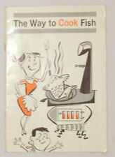 THE WAY TO COOK FISH  Department of Fisheries of Canada 1963 vintage collectible