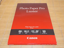 Canon Photo Paper Fotopapier Pro Glänzend LU-101 A3+ 329x483mm 50 Sheets 260g