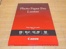 Canon Photo Paper Fotopapier Pro Glänzend LU-101 A3+ 329x483mm 50 Sheets 260g