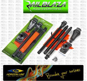 Railblaza Visibility Kit Light Flag Fishing Railblazer led safety Kayak navilux