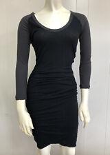 Standard James Perse Black/Gray Bodycon Dress Size 1/Small