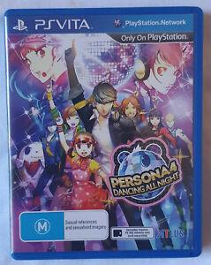 Persona 4 Dancing All Night PSVita LIKE NEW