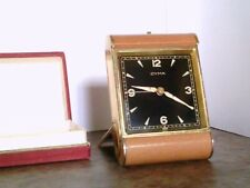 Vintage Personalized 1948 Cyma Travel Alarm Watch / Clock w/Box & Instructions