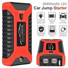 20000mah Portable Car Jump Starter Vehicle Charger Power Bank Battery Engine