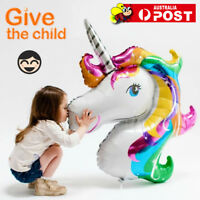 HUGE UNICORN FOIL Balloon Birthday Kids Party